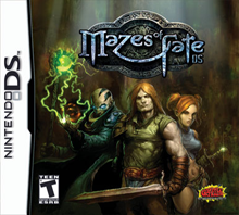 Thumbnail 1 for 2668 - Mazes of Fate DS (USA)